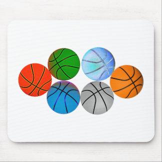 Basketballs 2010 mouse pad