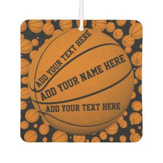 Basketballs Air Freshener