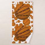 Basketballs Bath Towel