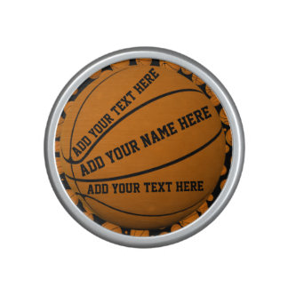 Basketballs Bluetooth Speaker