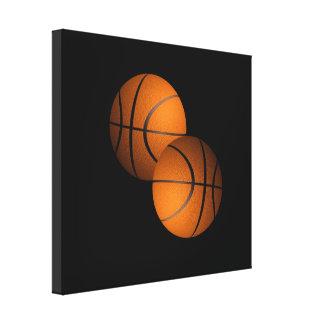 Basketballs Canvas Print