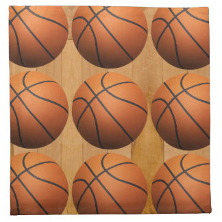 Basketballs Cloth Napkin