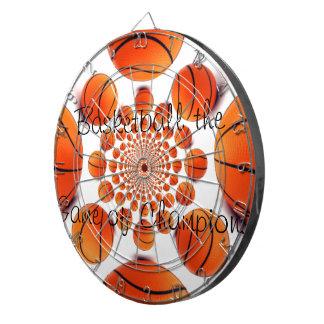 Basketballs Dartball Dartboard With Darts