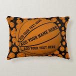 Basketballs Decorative Pillow