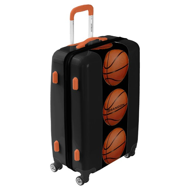 Basketballs Design Luggage