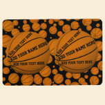 Basketballs Floor Mat
