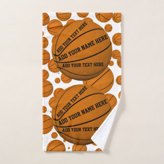 Basketballs Hand Towel