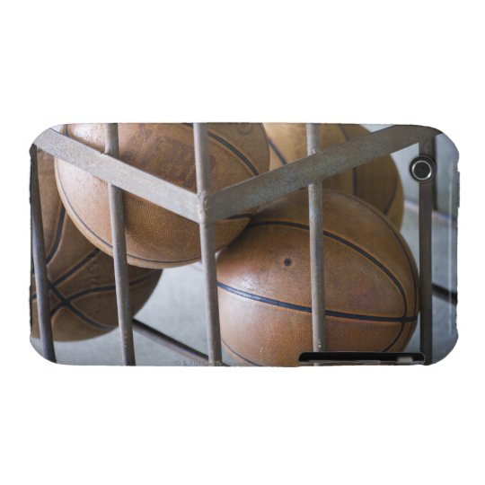 Basketballs in a basket iPhone 3 cover