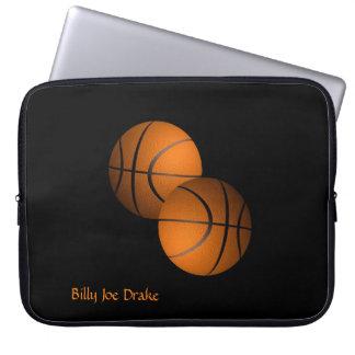 Basketballs Laptop Sleeve