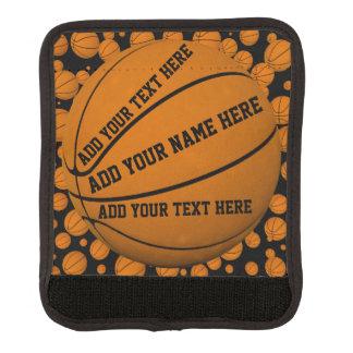 Basketballs Luggage Handle Wrap