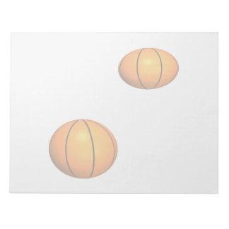 Basketballs Memo Pads