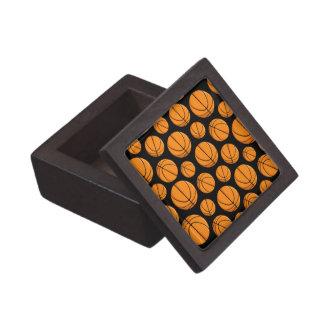 Basketballs Pattern Gift Box