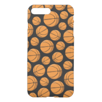 Basketballs Pattern iPhone 7 Plus Case