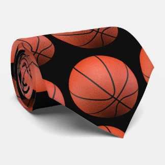Basketballs Pattern | Sport Gifts Tie