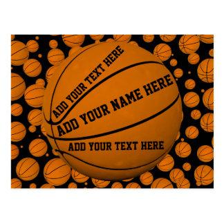 Basketballs Postcard