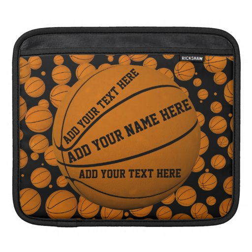 Basketballs Rickshaw Sleeve