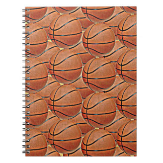 BASKETBALLS Spiral Notebook