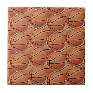 BASKETBALLS Tile