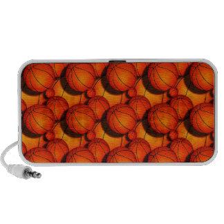 Basketballs Travelling Speaker