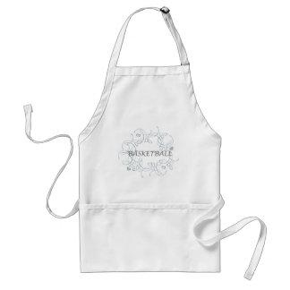 basketballwithswirlybackgroundandmore-10x10 adult apron