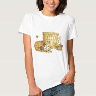 baskets and butterflies t-shirts