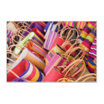 Baskets For Sale At Market Acrylic Print