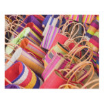 Baskets For Sale At Market Panel Wall Art