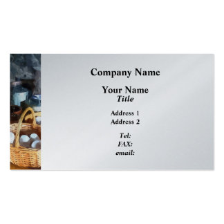 Baskets of Eggs Business Card