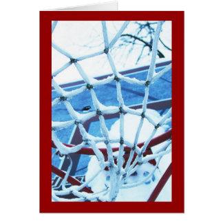 Basketsnow Greeting Card