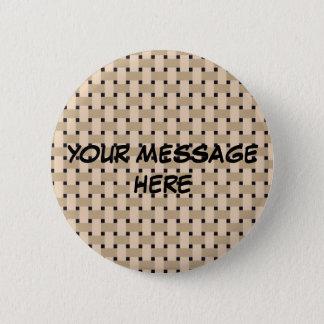 BASKETWEAVE ~ Customize Yourself! Button
