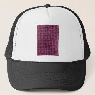 BASKETWEAVE PATTERN 4 TRUCKER HAT