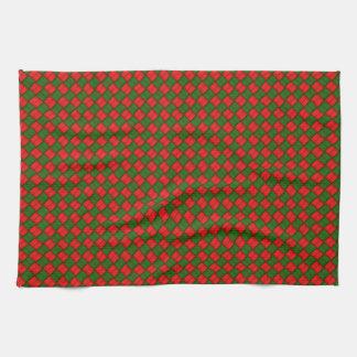 Basketweave Pattern Towel