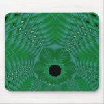 basketweave verde alfombrillas de raton