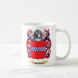 Baskin Coat of Arms (Family Crest) Coffee Mugs