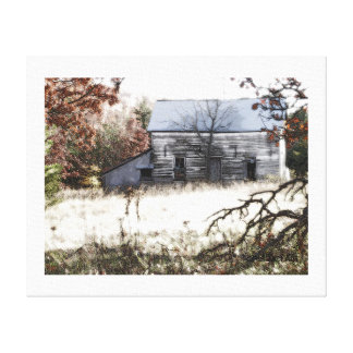 """Basking in the autumn sun"" by CR SINCLAIR Canvas Print"