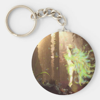 Basking in the Morning Rays Basic Round Button Keychain