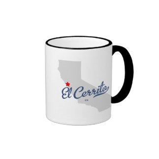 Basking Ridge New Jersey NJ Shirt Ringer Coffee Mug