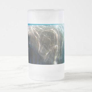 Basking shark (Cetorhinus maximus) 16 Oz Frosted Glass Beer Mug