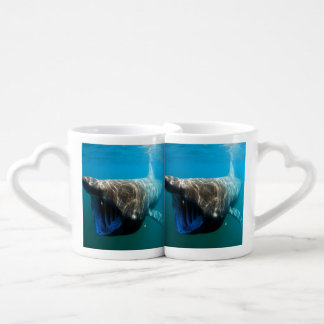 Basking shark (Cetorhinus maximus) Couples' Coffee Mug Set