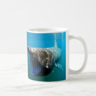 Basking shark coffee mug