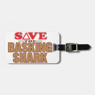 Basking Shark Save Bag Tag