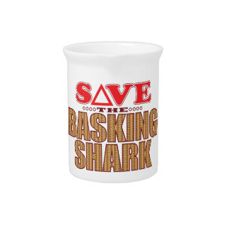 Basking Shark Save Beverage Pitcher