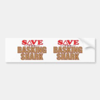 Basking Shark Save Bumper Sticker