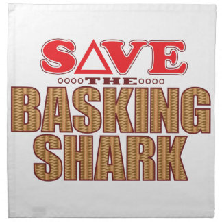 Basking Shark Save Cloth Napkin