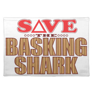 Basking Shark Save Cloth Placemat