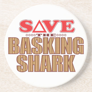 Basking Shark Save Drink Coaster