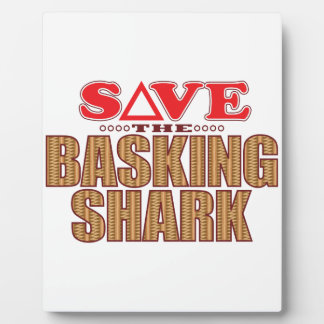 Basking Shark Save Plaque