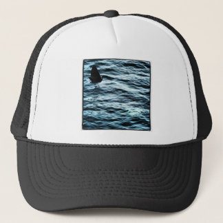 Basking shark trucker hat