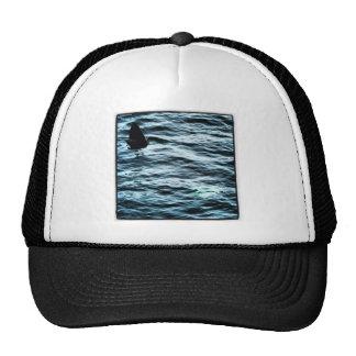 Basking shark trucker hat