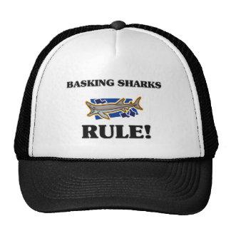 BASKING SHARKS Rule! Trucker Hat